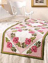 Roses Around Victorian Bed Topper