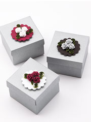 Folded Rose Gift Boxes