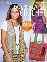 Easy, No-Sew Crochet