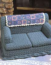 Free Crochet Pattern For Sofa Tissue Box Cover : Couch Tissue Box Cover - Crochet Tissue Box Cover