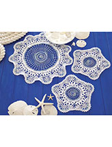 Ocean Waves Doilies