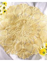 Pineapple Sunshine Doily