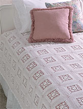 Heritage Lace Coverlet & Doily