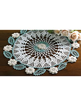 Circle of Roses Doily