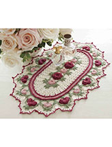 Rose Parade Doily