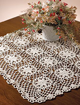Flower Webs Table Topper