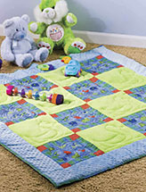 Comfy Corners Play Quilt