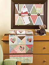Nouveau Baby Quilt & Keeper Board