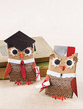 Graduation Owls Gift-Card Holders