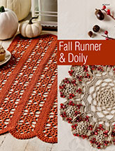 Fall Runner & Doily