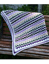 Chevron Illusion Blanket