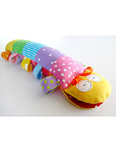 Caterpillar Softie With Ribbons