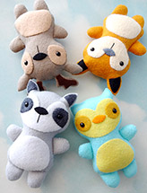 Woodland Animal Softies