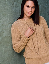 Woven Ribs Pullover