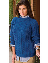 Windblown Cables Sweater