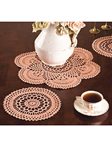 Copper Mist Doilies