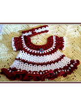Bobble Baby Christmas Dress