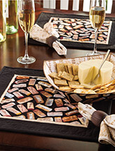 Wine & Cheese Table Set