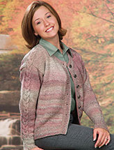 Rose Tweed Cardigan