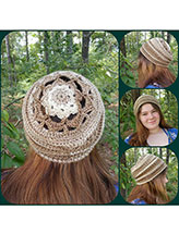 Starflower Slouchy Hat