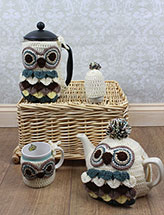 Owl Coffee & Tea Cozies