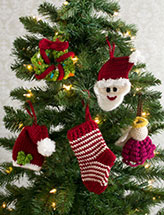 Holly Jolly Ornament Set