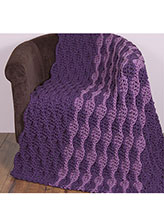 Hurry Up Honeycomb Afghan
