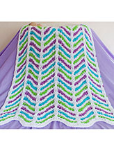 Cathedral Columns Baby Blanket