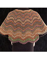 Sumptuous Scallops Shawl