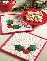 Jolly Holly Hot Pad