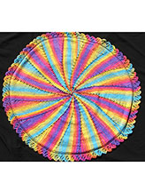 Colorful Circular Blanket