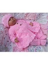 Lacy Winter Pram Suit