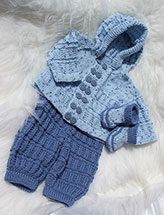 Hooded Outfit for Boys & Girls