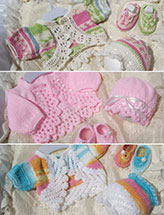 Boleros, Hats & Booties Sets