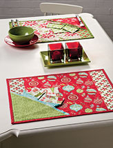 Hooray for Holidays Mat & Napkin Set
