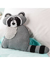 Ricky Raccoon Pillow