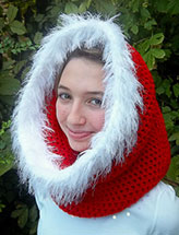 Christmas Candy Cowl