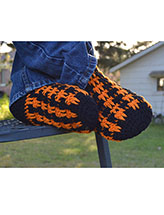 Men's Flannel Mimic Slipper Socks