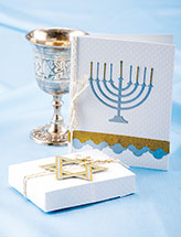 Hanukkah Card & Gift Box