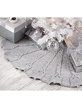 Silver Bells Tree Skirt