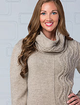 Wandering Walk Pullover & Cowl