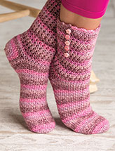 Wood Rose Socks