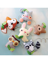 Felt Woodland Animal Set