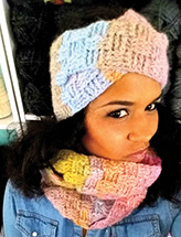 Basketweave Headband & Cowl