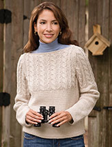 Cable Boatneck Pullover