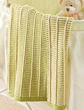 Key Lime Baby Blanket