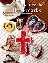 Magnetic Crochet Bookmarks