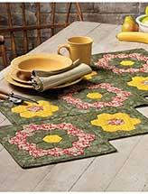 Appliqued Hex Runner