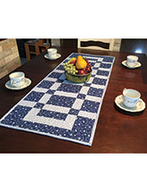 Sidewalks & Squares Table Runner