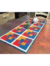 Swapped Squares Table Runner